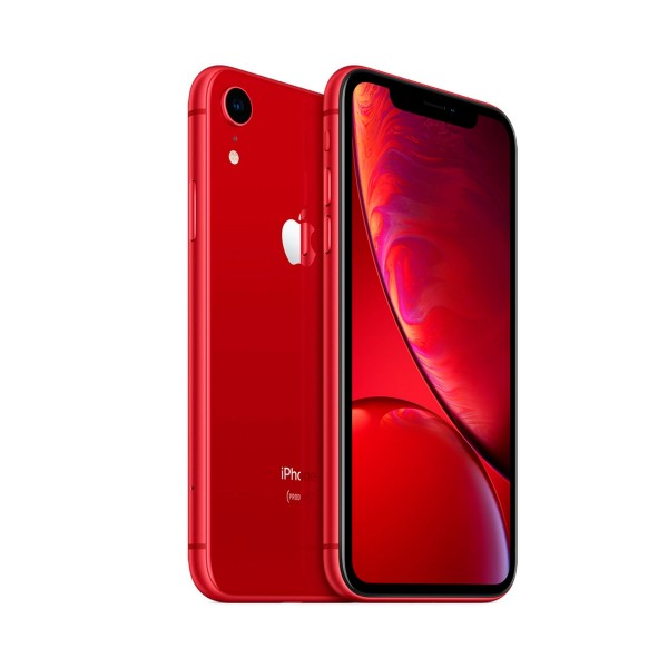 Apple iphone xr 128gb rojo reacondicionado cpo móvil 4g 6.1'' liquid retina hd led hdr/6core/128gb/3gb ram/12mp/7mp