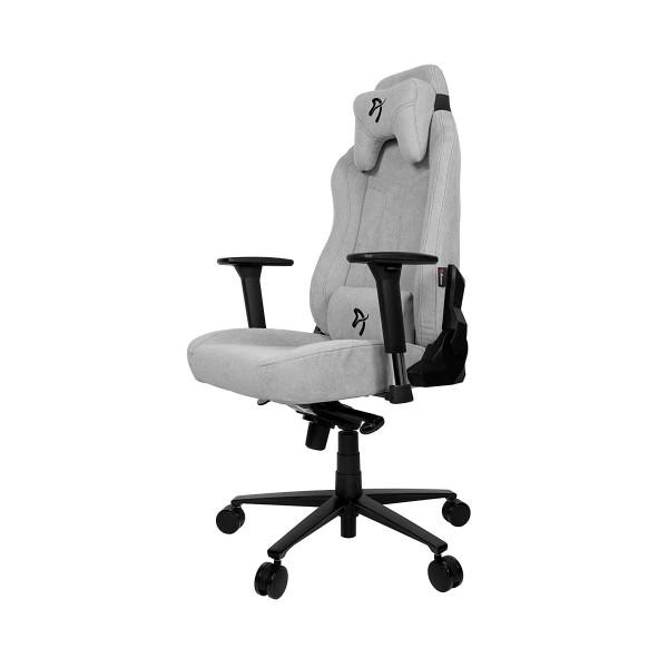 Arozzi vernazza soft silla gaming gris/ ergonómica 1ª categoría/tejido 1ª calidad/multitud de funciones/ reposabrazos 3d/hasta 145kg