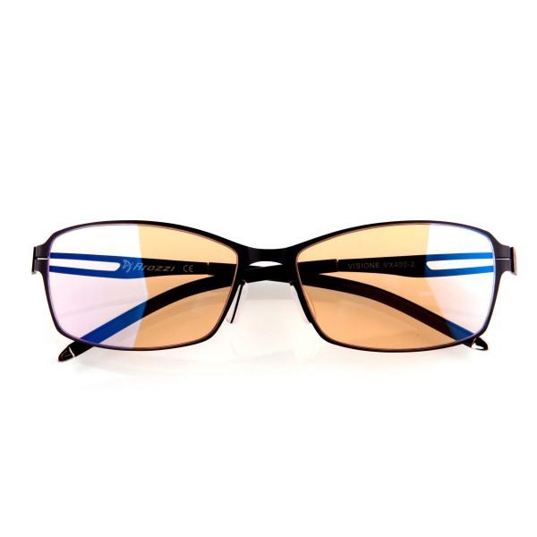 Arozzi visione vx-400 negro/gafas para fatiga ocular/filtra rayos uv