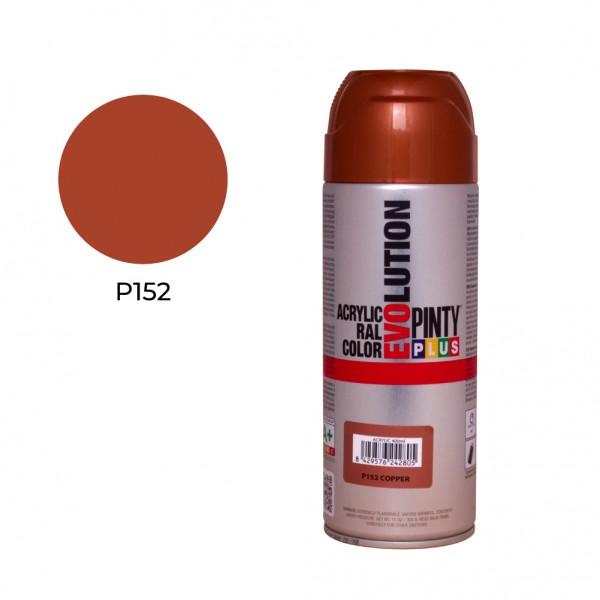 Pintura en spray pintyplus evolution 520cc  p152 cobre